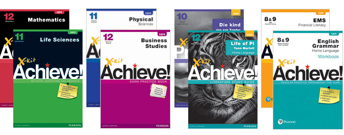 Explore the X-kit Achieve range of study guides